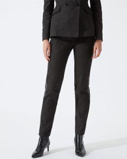 Black Denim Dinner Trousers