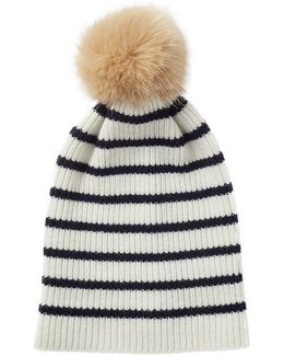 Islay Breton Stripe Pom Hat
