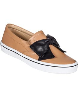 Delise Too Slip-on Sneaker Natural Leather