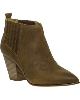 Young Leather Ankle Boots