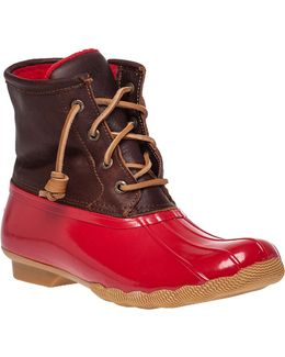 Saltwater Core Rubber and Leather Boots