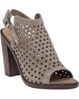 Wyatt Perforated Suede Sandals