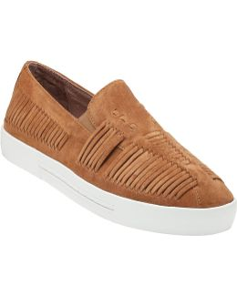 Huxley Whiskey Suede
