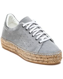 Pace Grey Suede Espadrille Sneaker
