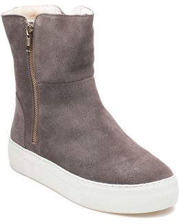 Allie Taupe Suede Boot