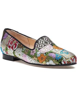 Gatsby Japan Embroidered Smoking Slipper