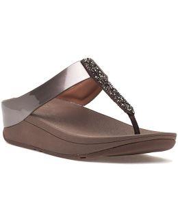 Fino Bronze Metallic Sandal