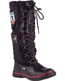 Grip Classic Tall Boot Black Fabric