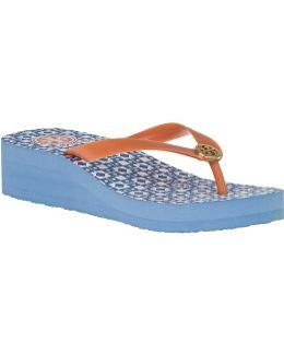Adonis Wedge Flip-Flops