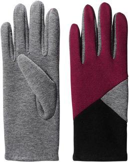 Colour Block Gloves