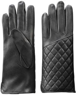 Pleather Gloves