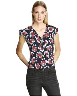 All Over Print Blouse