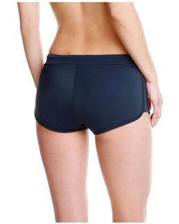Drawstring Boy Short Bikini Bottom