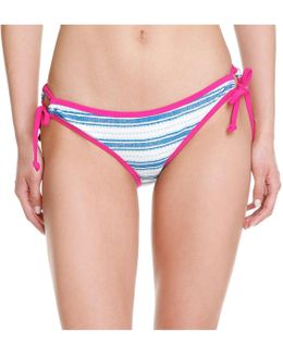 X Lemlem Stripe Bikini Bottom