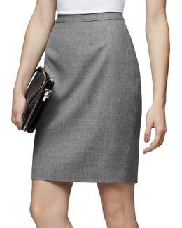 Austin Tailored Pencil Skirt