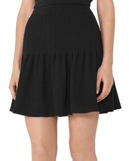 Lexi Pin Tuck Skirt