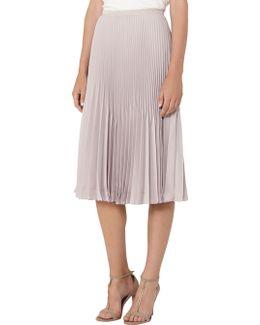 Rosie Pleated Midi Skirt