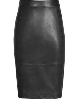 Avril Leather Skirt