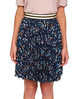 Colour By Numbers Motrie Lamp Printed Skirt