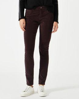Richmond Velvet Jeans Long