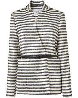 Cora Striped Coat