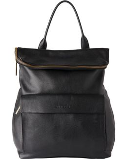 Verity Large Leather Backpack