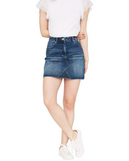 Authentic Denim Skirt
