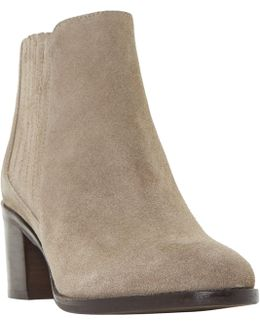 Peter Block Heeled Ankle Boots