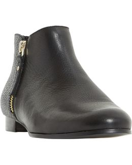Portia Stacked Heel Ankle Boot