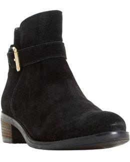 Pheobie Block Heeled Ankle Boots