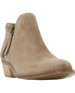 Pollyanna Block Heeled Ankle Boots