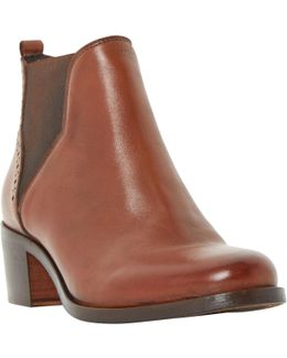 Parnell Block Heeled Ankle Boots