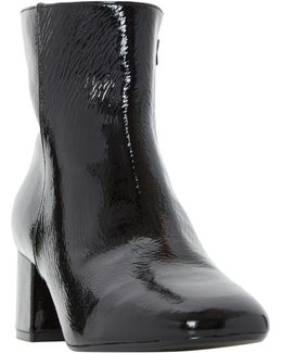 Packham Block Heeled Ankle Boots