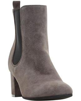 Ola Block Heeled Chelsea Ankle Boots