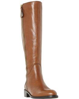 Tillyy Block Heeled Knee High Boots