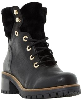 Rochelle Lace Up Ankle Boots