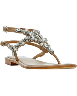 Nuevo Jewelled Sandals