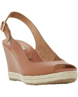 Klick Wedge Heeled Sandals
