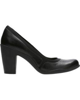 Adya Maia Block Heeled Court Shoes