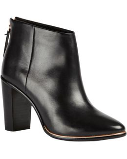 Lorca Block Heeled Ankle Boots