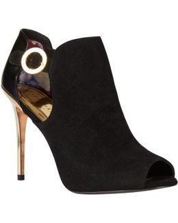Sandrouse Peep Toe Shoe Boots