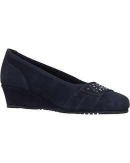 Allie Wedge Heeled Court Shoes