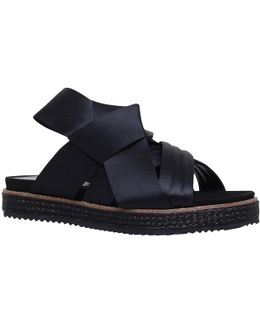Bloom Bow Sandals