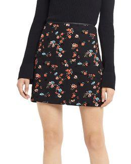 Ruby Floral Mini Skirt