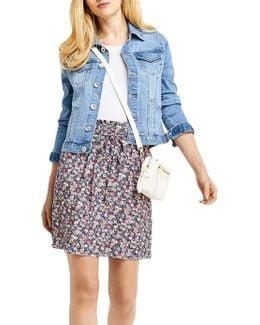 Ditsy Paper Bag Skirt