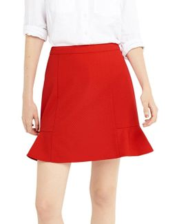 Red Flippy Skirt