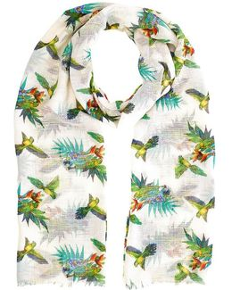 Palm Bird Scarf