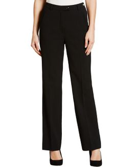 City Straight Leg Trousers