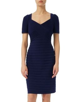 Matt Jersey Cross Bodice Dress