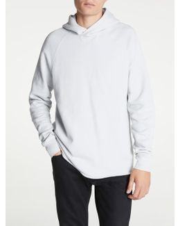 Made & Crafted Unhemmed Hoodie Top